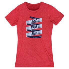 Women's Everyday Runners Tee - Land That I Run