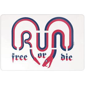 "Running 18"" X 12"" Wall Art - Run Free Or Die America"