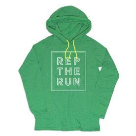 Men's Running Lightweight Hoodie - Rep The Run