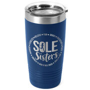 Running 20oz. Double Insulated Tumbler - Sole Sister Words
