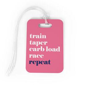 Running Bag/Luggage Tag - Run Mantra (Repeat)