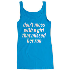 Running Women's Athletic Tank Top - Don't Mess With A Girl
