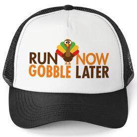 Running Trucker Hat - Run Now Gobble Later