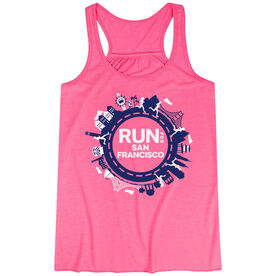 Flowy Racerback Tank Top - Run for San Francisco