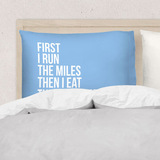 Running Pillow Case - Then I Eat The Chocolate