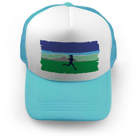 Running Trucker Hat - Field Runner (Girl)
