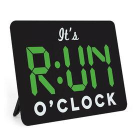 Running Desk Art - It's RUN O'Clock