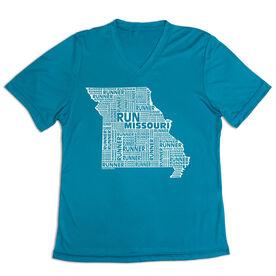 Women's Short Sleeve Tech Tee - Missouri State Runner