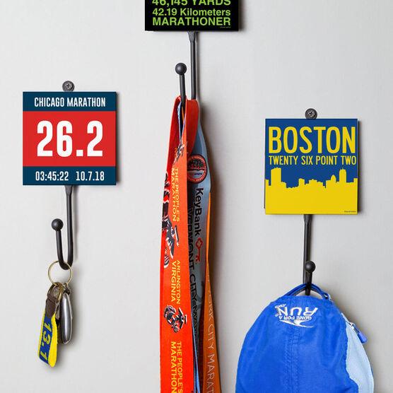 Running Medal Hook - Custom Bib