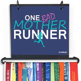 BibFOLIO Plus Race Bib and Medal Display One Bad Mother Runner