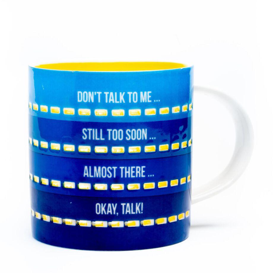 Soleil Home™ Porcelain Mug - Coffee Mood Timer