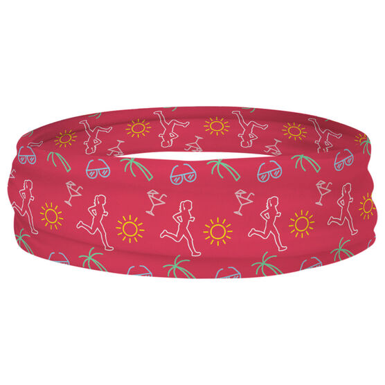 Running Multifunctional Headwear - Tropical Female Runner RokBAND