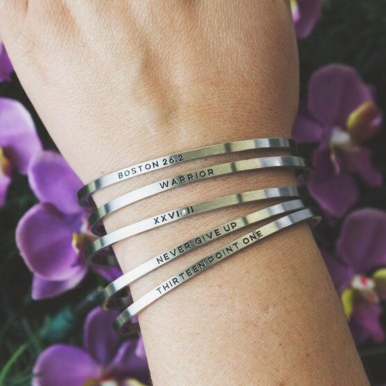 InspireME Cuff Bracelet - Boston 26.2