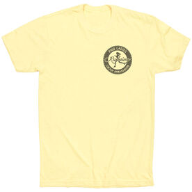 Vintage Running T-Shirt - Pacific Northwest Ladies Running Group Ambassador Logo (Black)
