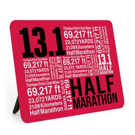 Running Desk Art - Half Marathon