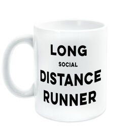 Running Coffee Mug - Long Social Distance Runner