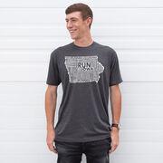 Running Short Sleeve T-Shirt - Iowa State Runner