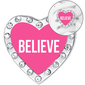 Running Shoe Lace Charm - Believe