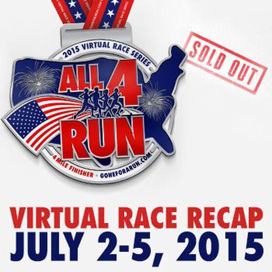 All 4 Run Virtual 4 Mile Race
