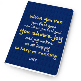 Running Notebook When You Run You Feel Joy