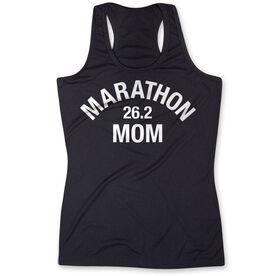 Women's Performance Tank Top - Marathon 26.2 Mom