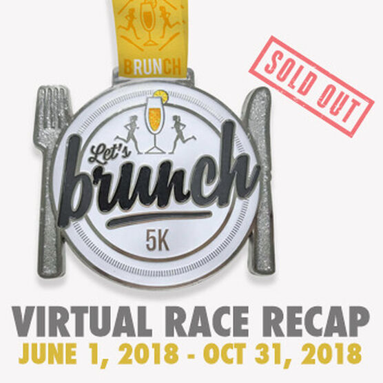 Virtual Race - Let's Brunch 5K (2018)