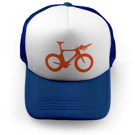 Triathlon Trucker Hat Tri Bicycle
