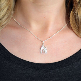 Sterling Silver Magical Miles Necklace