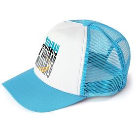 Running Trucker Hat - Sunday Funday Runday