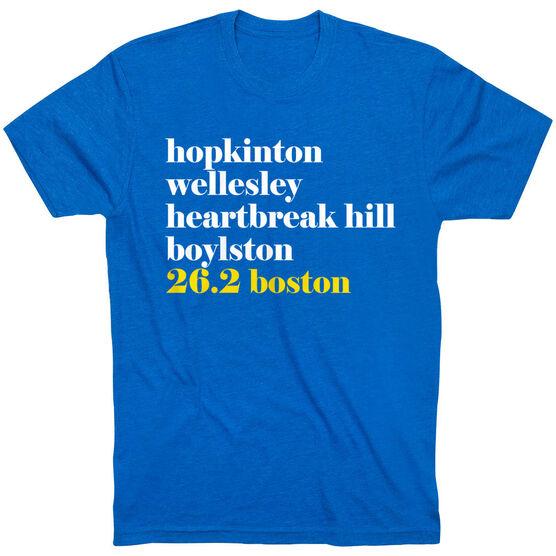 Running Short Sleeve T-Shirt - Run Mantra Boston