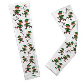 Running Printed Arm Sleeves Elf on the Run