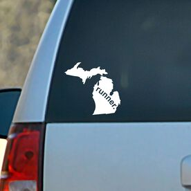 Michigan State Vinyl RUNNERDecal