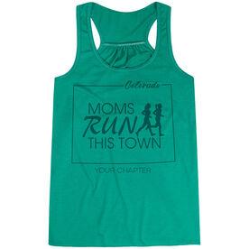 Flowy Racerback Tank Top - Moms Run This Town Colorado Runner