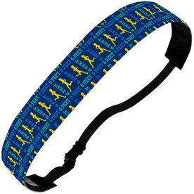 Running Juliband No-Slip Headband - 6 Feet Social Distance Runner