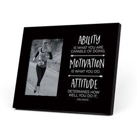 Running Photo Frame - Ability Motivation & Attitude