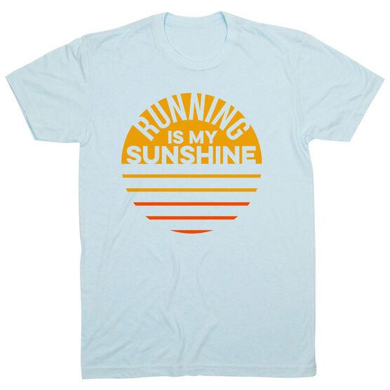 Running Short Sleeve T-Shirt - Running is My Sunshine