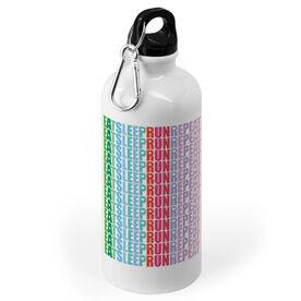 Running 20 oz. Stainless Steel Water Bottle - Eat Sleep Run Repeat