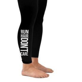 Running Leggings - Run Hair Don't Care