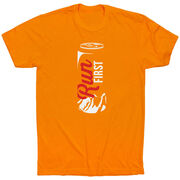 Running Short Sleeve T-Shirt - Run First Can