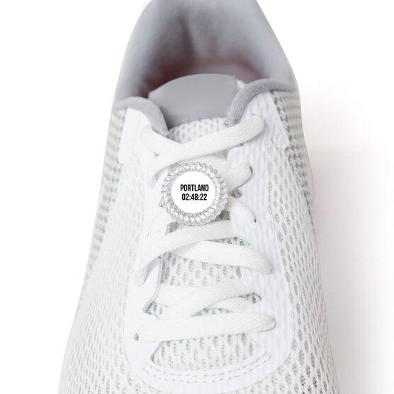 Running Shoelace Charm - Custom Race