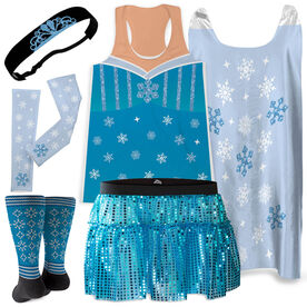Ice Queen Running Outfit