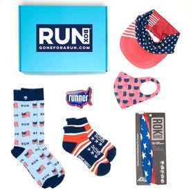 RUNBOX® Gift Set – Patriotic Runner