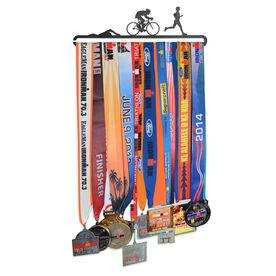 Race Medal Hanger Triathlon MedalART