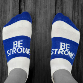 Socrates® Woven Performance Sock Be Strong (Royal)