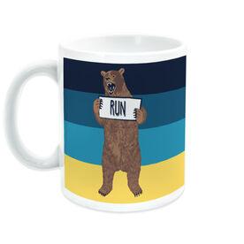 Running Coffee Mug - Trail Bear