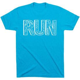 Running Short Sleeve T-Shirt - Run With Inspiration