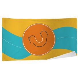 Running Beach Towel Run & Be Happy