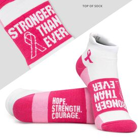 Socrates® Woven Performance Socks Stronger than Ever (Pink)