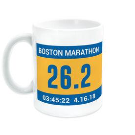 Running Coffee Mug - Custom Bib