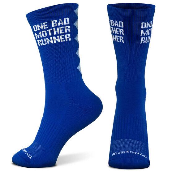 Socrates® Mid-Calf Performance Socks - One Bad Mother Runner